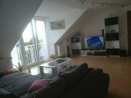 Modernisierte 2-Zimmer-Wohnung mit schöner Aussicht