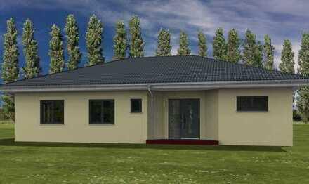 Neubau eines Bungalowhauses in Wegendorf in Massivbauweise.