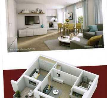 Erstbezug: Service-Wohnen für Senioren, ansprechende 2-Zimmer-Wohnung mit Balkon in Weißenburg