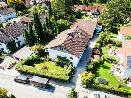 346 qm WNFL zum Wohnen und Arbeiten im Grünen in Oberhaching