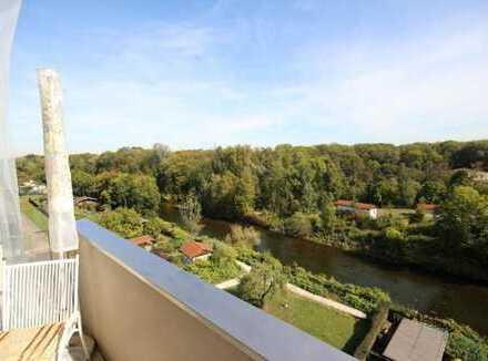 Traumhafter Ausblick über den Dächern Augsburgs!