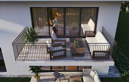 Neubau 3-Zimmer Eigentumswohnung mit Balkon.