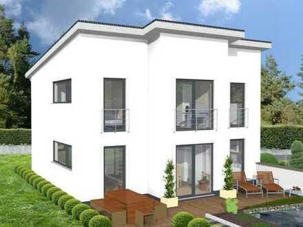 **Ein Architektenhaus der besonderen Art in schöner Waldrandlage**