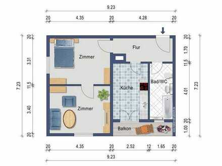 Top Kapitalanlage - renoviert - 4.Stock - Einbauküche - Balkon - Aufzug