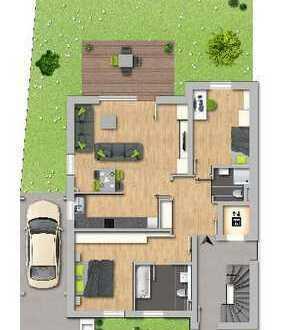 Altersgerecht! Neubau Gartenwohnung - ca. 98 m² Wohnfläche, 3,5 Zimmer, Lift und Gäste WC.