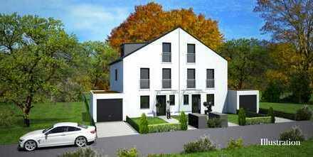Neubau: Hochwertige, moderne DHH in grüner und begehrter Wohnlage