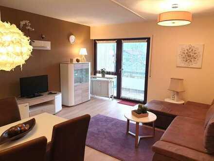 Möbliert, auch auf Zeit: Elegante 2-Zimmer Wohnung mit traumhaftem Bergblick
