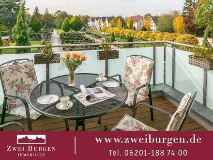 Neuwertige barrierefreie Eigentumswohnung in ruhiger Aussichtslage von Hemsbach