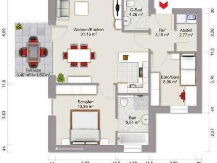 Neubau: Zentrumsnahe, attraktive Eigentumswohnung