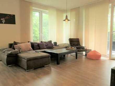 Beverbäker Wiesen - moderne 2 Zimmer mit großer Terrasse und Blick ins Grüne