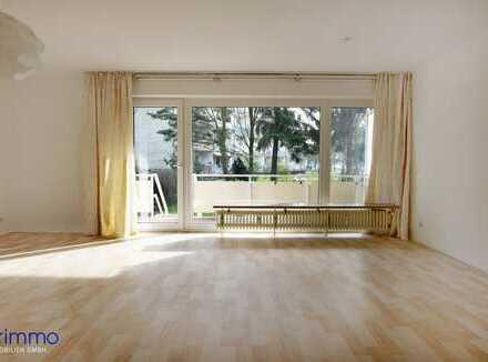 Platz für individuelles Wohnen. 2-Zimmer-Erdgeschosswohnung in Düsseldorf-Eller