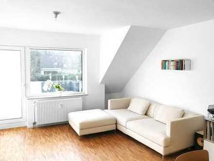 Modernisierte 4-Zimmer-Maisonette-Wohnung mit Balkon in Leverkusen-Opladen