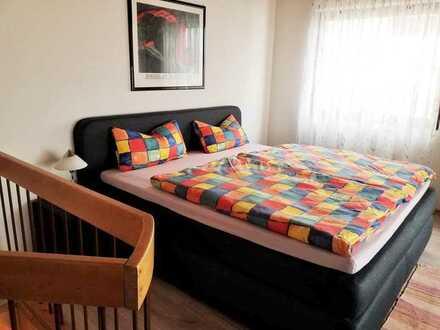 FREI: möblierte 2-Zimmerwohnung als Hinterhaus mit Wlan, TV, Küche, Dusche/Wc, Waschmaschine