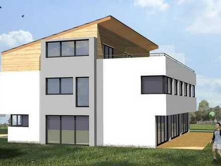 Provisionsfrei–Neubau: modernes REH in Niedrigenergiebauweise inkl. 1 TG-Stlpl. und 1 Stlpl.