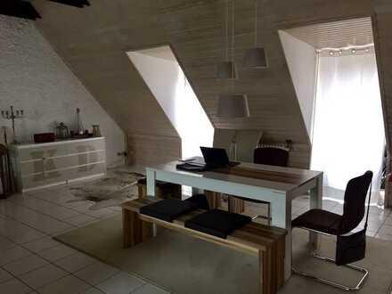 Penthouse-Maisonette-Loft mit großem Südbalkon
