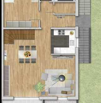 3 Zimmer Maisonette Wohnung mit Einzelgarage - Endhaus Ost