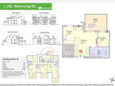 NEUBAU - 43m² 2ZKB Obergeschosswohnung Ingolstadt/Süd - Provisionsfrei! (WE 08)