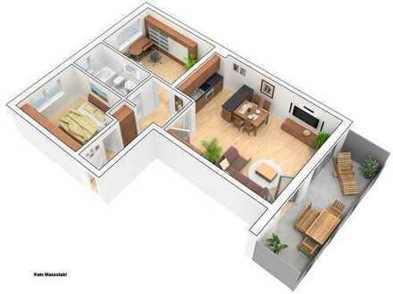 3 Zimmer Stadtwohnung in ruhiger Lage!