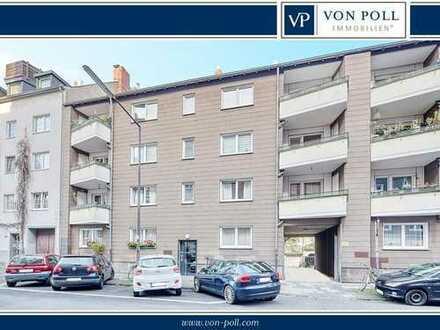 Neues Zuhause oder attraktive Anlageoption: 2-Zi.-ETW mit Balkon in der Kölner Innenstadt