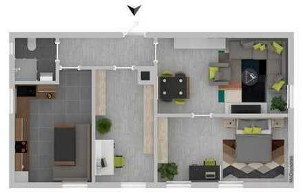 Kapitalanlage! Zentral gelegene und gemütliche 3-Zimmerwohnung in Stuttgart-Feuerbach zu verkaufen