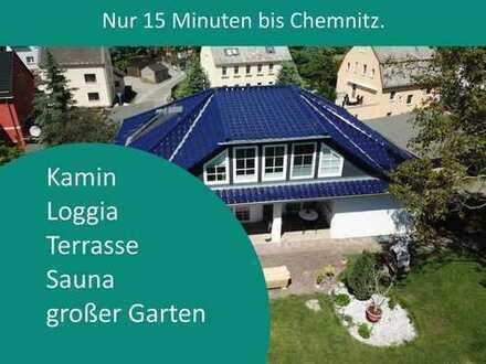 Platz für die ganze Familie - nur wenige Minuten von Chemnitz entfernt.
