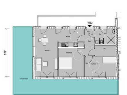 W12 Barrierearme 3-Zimmer Penthousewohnung