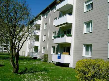 kleine 3-Zimmerwohnung mit Balkon in der Wertachschleife