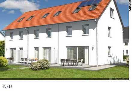 MODERNE ARCHITEKTUR, 3 REIHENHÄUSER IN WILHELMSFELD / PROJEKTIERUNG