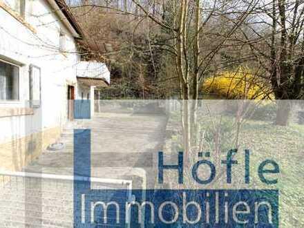 Bensheim Schönberg, großes Grundstück mit Abrissobjekt in zweiter Reihe