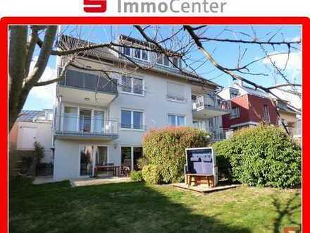 Junge Haus-im-Haus-Stil - 4,5-Zimmer Maisonette-Wohnung mit Gartenanteil