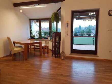 Gepflegte 3-Zimmer-Terrassenwohnung in Waldkraiburg