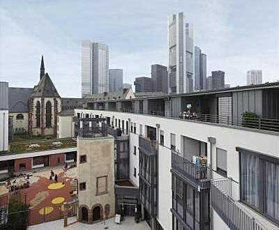 Wohnen wie im Reihenhaus und das auf den Dächern von Frankfurt