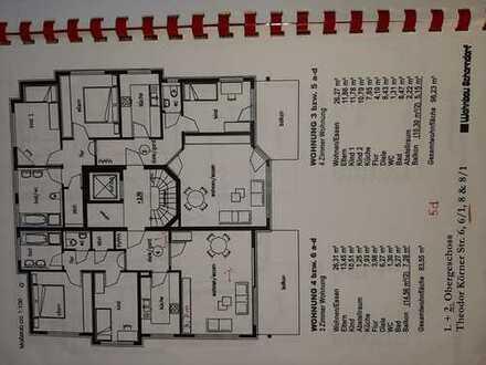 Neuwertige 4-Zimmer-Wohnung mit Balkon und Einbauküche in Schorndorf