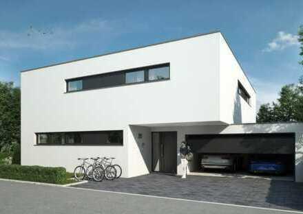 Exklusives freistehendes Einfamilienhaus mit Doppelgarage