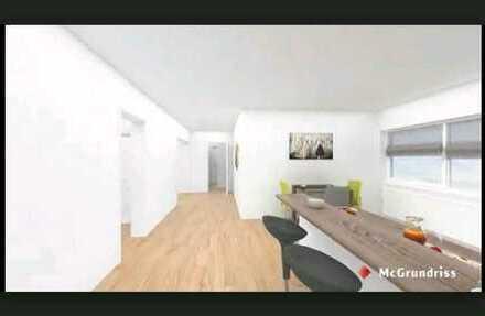 barrierefreie freundliche 4,5 Zimmer-Wohnung mit Einbauküche und Balkon in Bad Brückenau