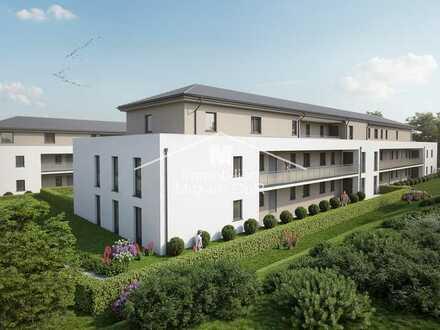 Wohncarré PARSBERG: Neubau 2-Zimmer-Erdgeschoss-Wohnung barrierefrei mit Aufzug u. Tiefgarage