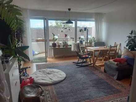 Zwei-Zimmer-Wohnung in Freising mit schönem Ausblick