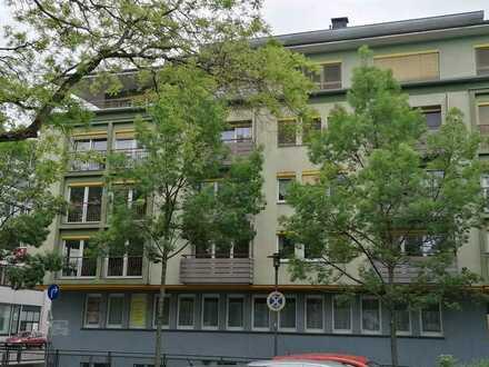 """""""""""sehr schöne großzügige 1-Zi-Wohnung mit Balkon und Einbauküche, Pfhm., nahe Reuchlinhaus/Park """""""""""