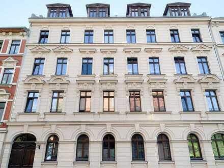 Kapitalanlage: Exklusive 3-Raum-Eigentumswohnung mit Balkon in Leipzig
