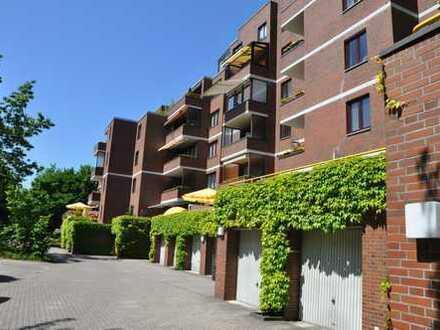 Wohnen am Damm! Sanierte 3 Zimmer-Wohnung mit sonnigem Balkon!