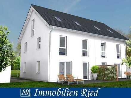Neubau einer gehobenen Doppelhaushälfte mit Südgarten, zentral gelegen in Weilheim
