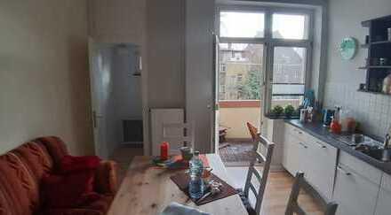 Helle, gemütliche 3-Zimmer Wohnung incl. großer Wohnküche und Südbalkon in Herne Mitte