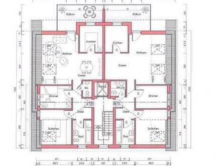 Neubau-Erstbezug! 3-Zimmer-Wohnung in Rodgau-Hainhausen