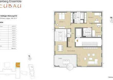 4 Zi.-Whg., Balkon, Lage im Neubau 5. OG ganze Etage