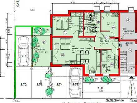 *ERSTBEZUG - Exklusive 3- Zimmer Erdgeschosswohnung mit Terrasse in ruhiger Lage!*