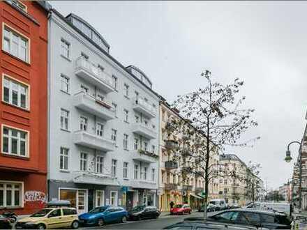 """""""Vermietete Altbauwohnung Büroeinheit mit 2 Balkonen in der Mainzer Straße F-Hain"""""""