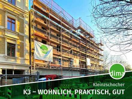Baubeginn | K3 - wohnlich, praktisch, gut | großer Süd-Balkon, 2 Tageslichtbäder, Aufzug, Garage