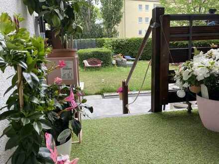 Große Wohnung, großer Garten, einfach wohlfühlen!