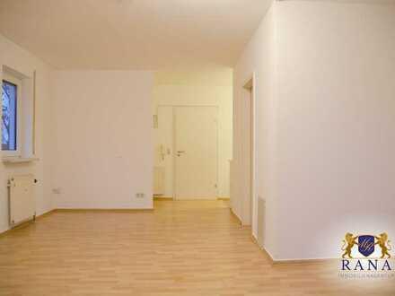 Perfekt für den Single · Erdgeschosswohnung mit Terrasse, Einbauküche & PKW-Stellplatz · Ab sofort