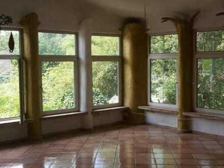Für Naturliebhaber: 1-2 FH mit 5 Zimmer u. Ausbaumöglichkeit für 3 weitere Zimmer in Neckarsteinach